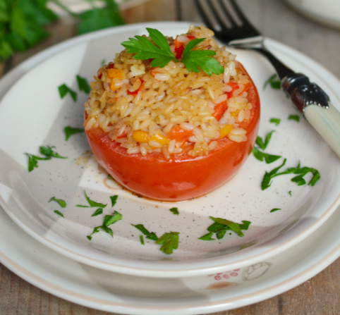 pomodori ripieni riso
