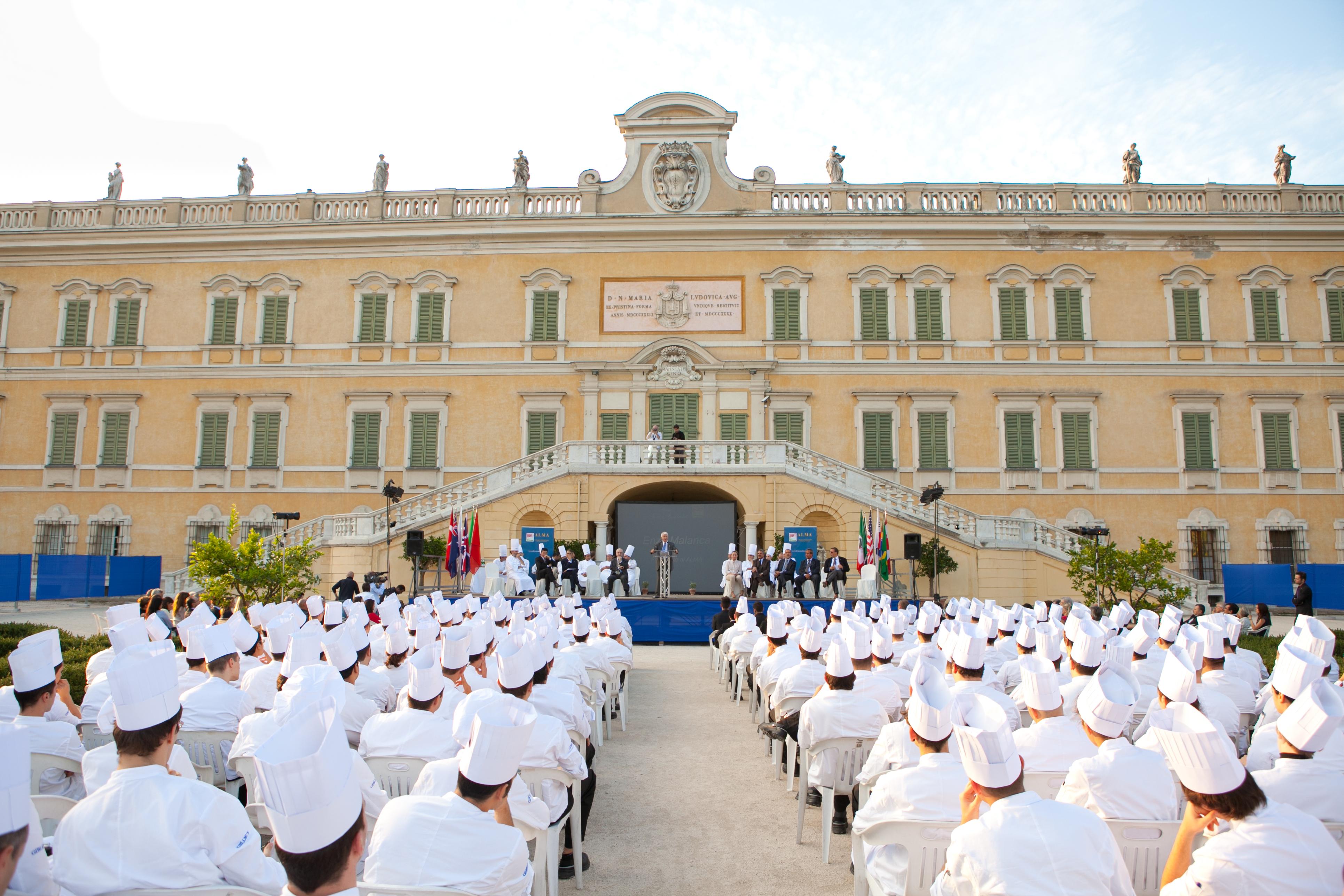 inaugurazione anno accademico 17 09 12 13 la scuola internazionale di cucina alma